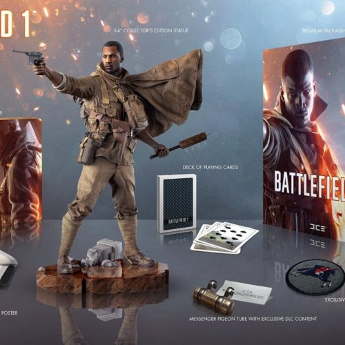 EA reveals Battlefield 1 Collector's Edition featuring the Harlem Hellfighters