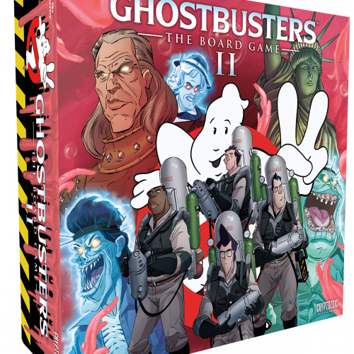 Fans successfully fund the Ghostbusters: The Board Game II Kickstarter campaign
