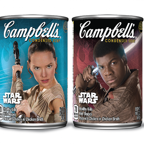 Celebrate May the Fourth with some Star Wars Campbell's Soup