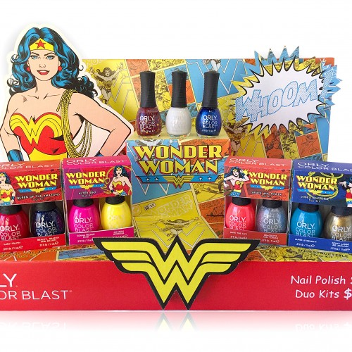 Wonder Woman Beauty Collection exclusive at Walgreens