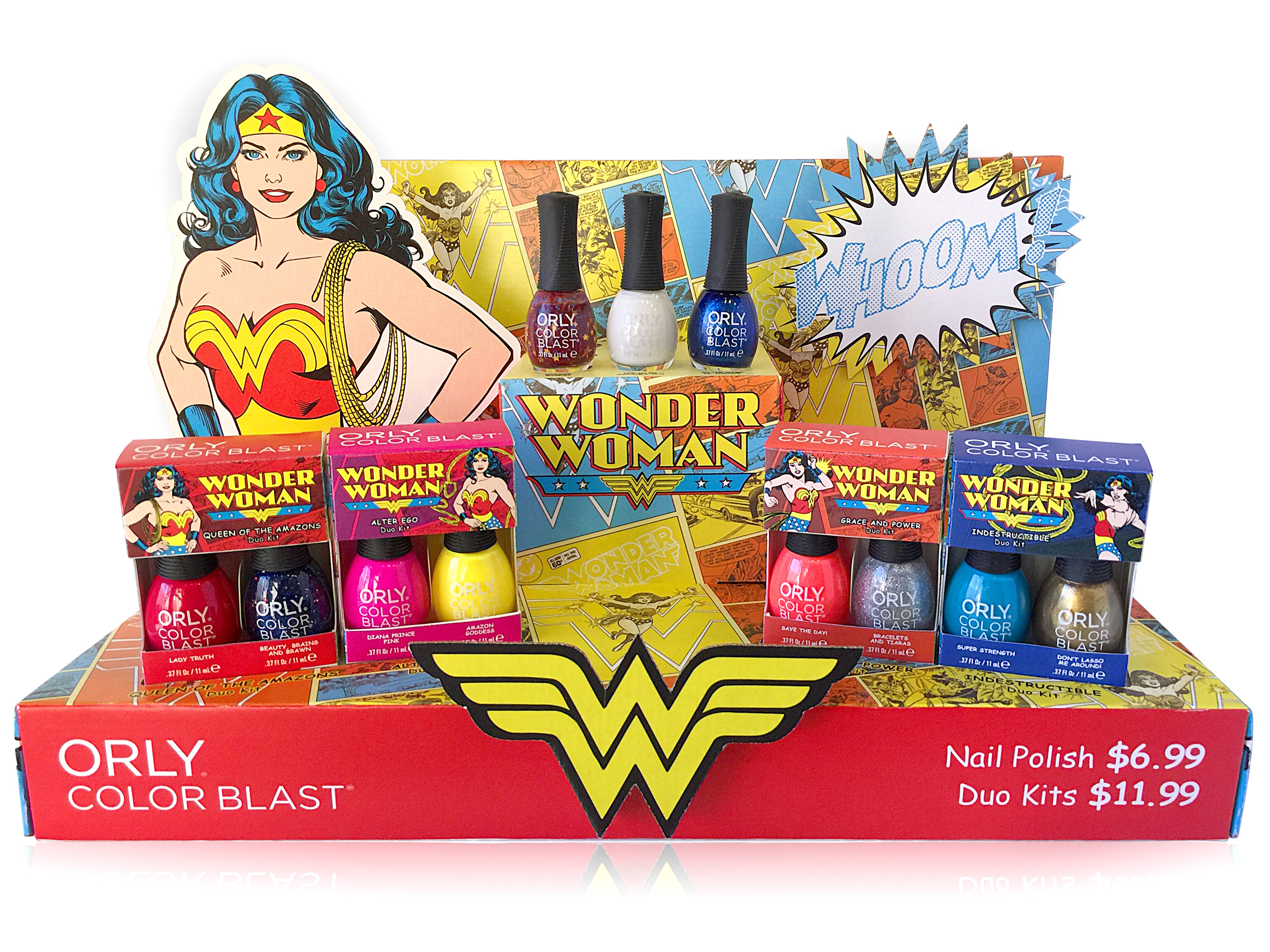 Wonder Woman Beauty Collection Exclusive At Walgreens - Nerd Reactor