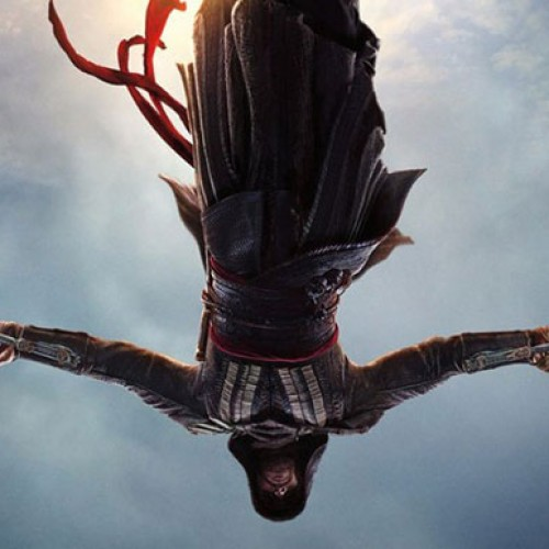 Michael Fassbender does the leap of faith in the first 'Assassin's Creed' poster