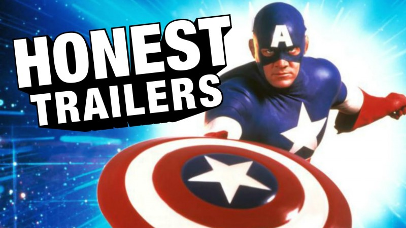 captain america honest trailer