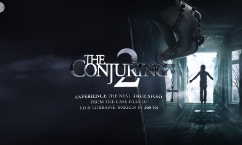 Get scared with a virtual reality experience from The Conjuring 2!