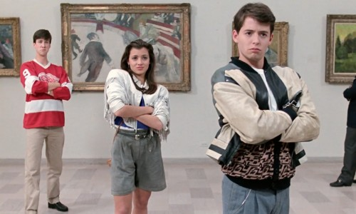 Bueller?… Bueller? You've got to check out 'Ferris Bueller's Day Off' this weekend