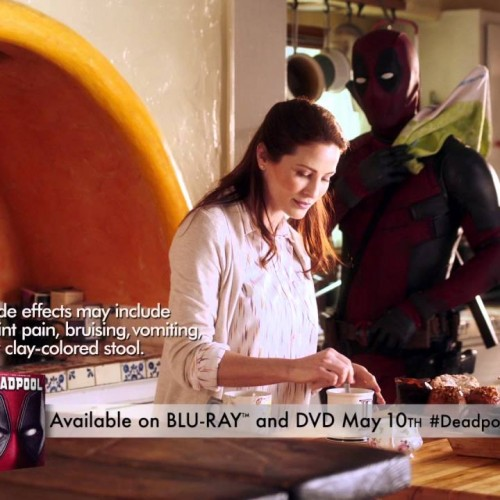 Deadpool Blu-ray ad parodies drug ads with side effects