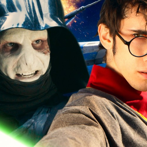 Harry Skypotter fights Lord Vadermort in Star Wars and Harry Potter mashup trailer