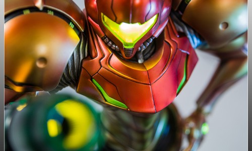 First 4 Figures shows off ultimate Samus statue