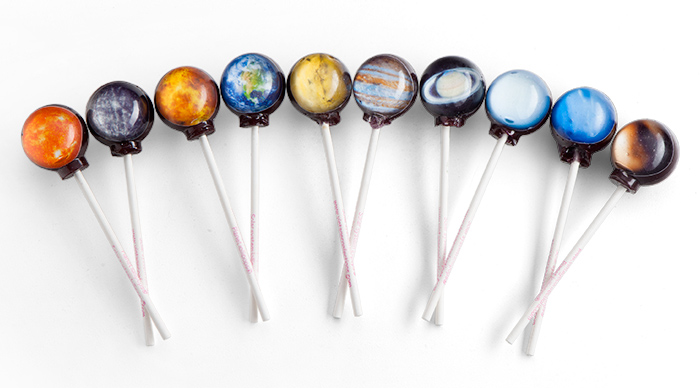 Planet lollipops!