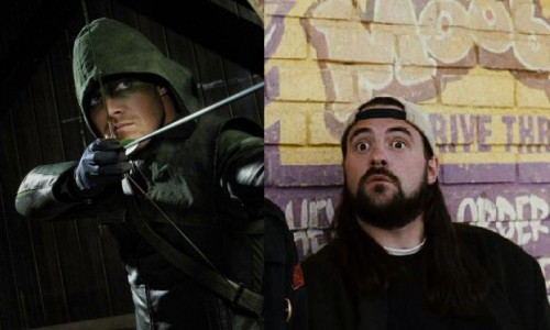 Stephen Amell wants Kevin Smith to write for Arrow