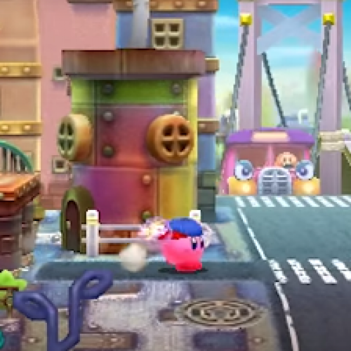 Kirby: Planet Robobot introduces three new copy abilities: Poision, ESP, and Dr. Kirby