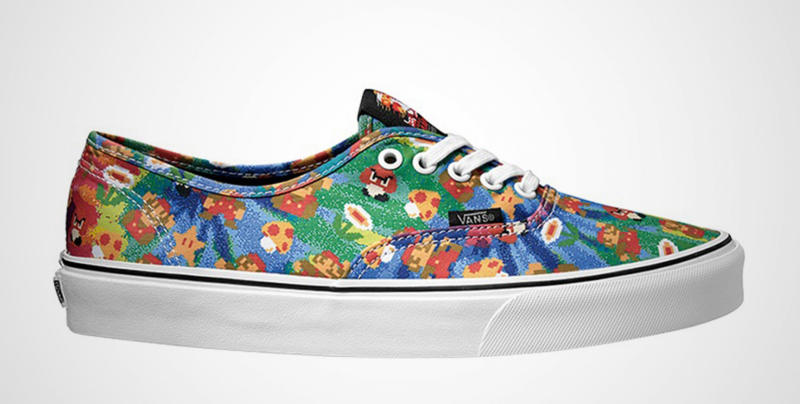 0e2498d949 Nintendo teams up with Vans for video game-themed footwear - Nerd ...