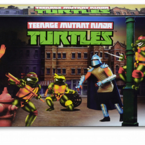 NECA's Teenage Mutant Ninja Turtles '90s arcade game gets SDCC-exclusive figures