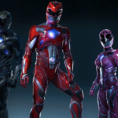 See the Red Ranger in action in Power Rangers movie set photo