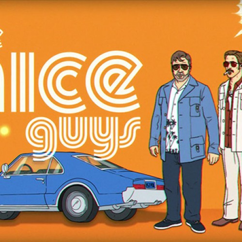 Go retro with this 70s-inspired animated short for 'The Nice Guys'