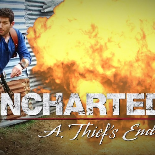 Uncharted 4 short emulates gameplay in real life… all in one take