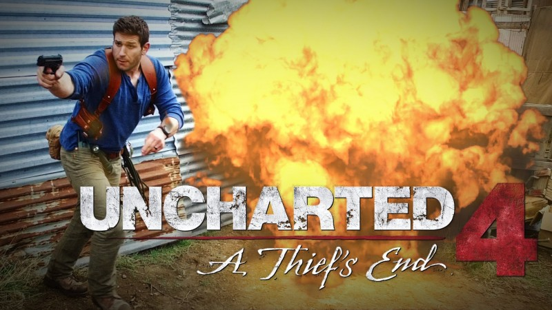 uncharted 4 gameplay real life