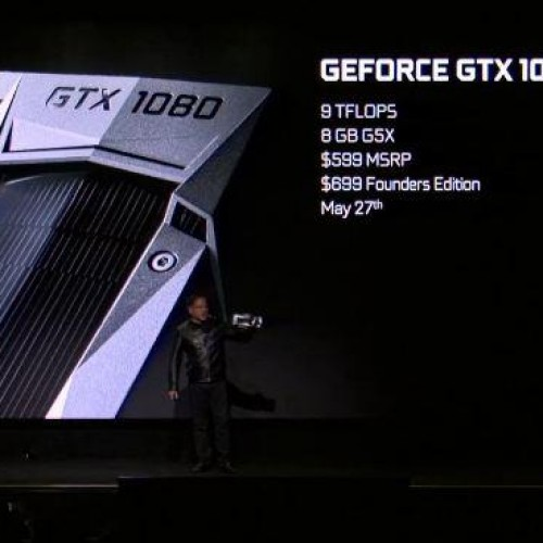Nvidia's GTX 1080 release date and specs announced