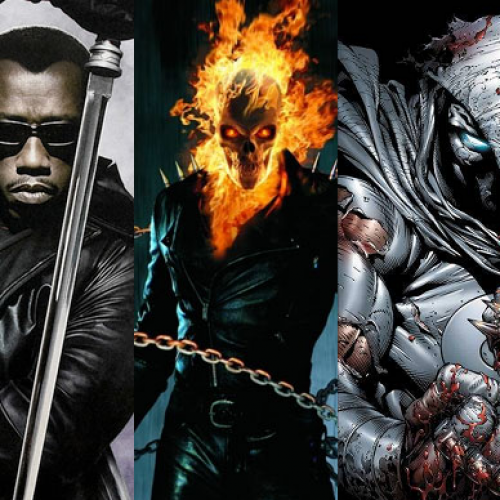 Netflix to adapt a Blade, Ghost Rider, and Moon Knight series?