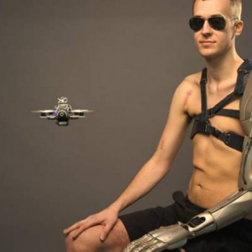 Real-life arm of the future inspired by Metal Gear Solid V