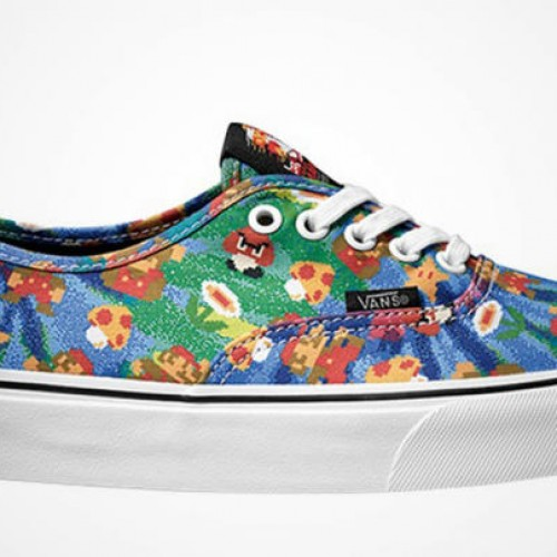 Nintendo teams up with Vans for video game-themed footwear