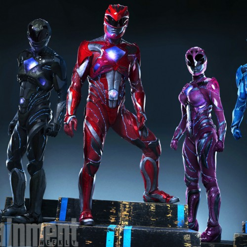 First look at suits for Power Rangers reboot