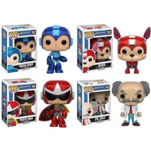 Mega Man Funko Pops to release this August