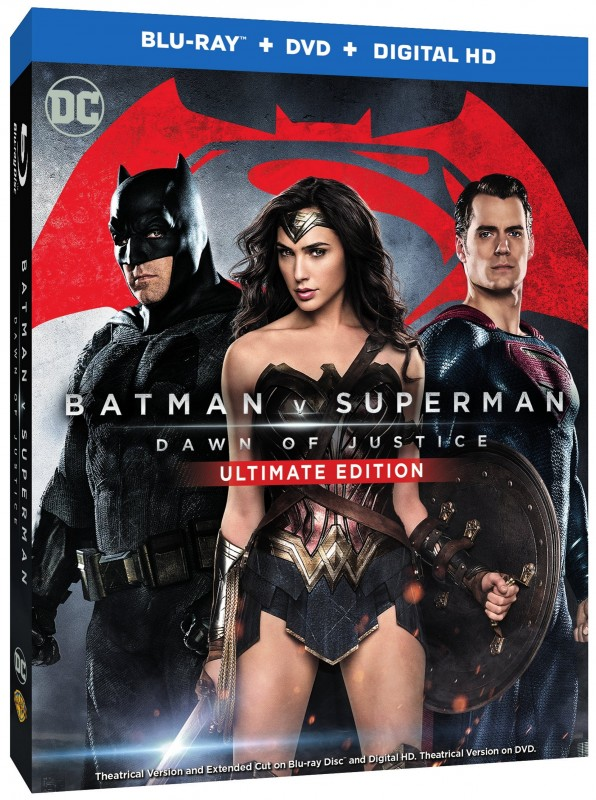 Batman v Superman DOJ Boxart 3D