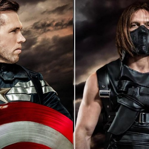 For those who wanted a gay Captain America, here he is!