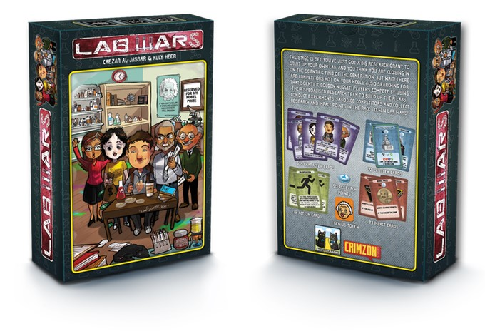 Lab Wars A card game made by actual scientists! , Nerd Reactor