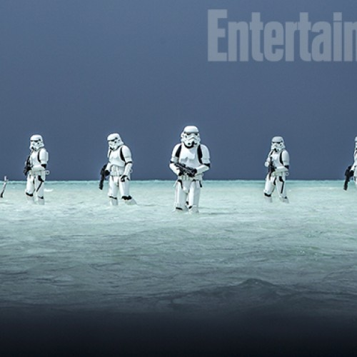 New Star Wars' Rogue One beach photos plus James Earl Jones to voice Darth Vader