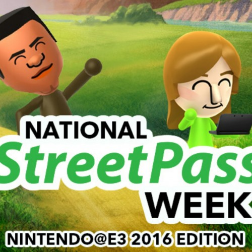 National StreetPass week begins in time for E3