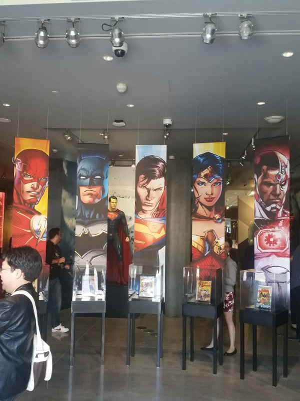 WB Tour DC Universe Exhibit - 01