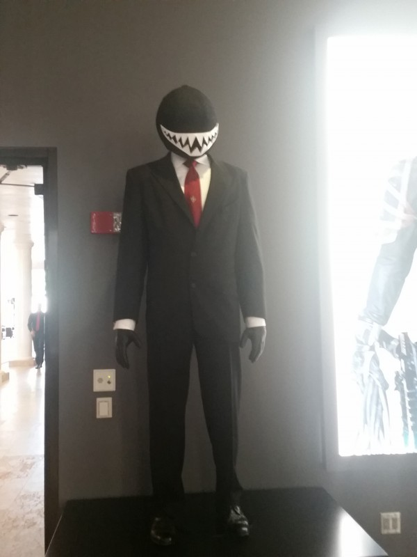 WB Tour DC Universe Exhibit - The Joker's Goon suit