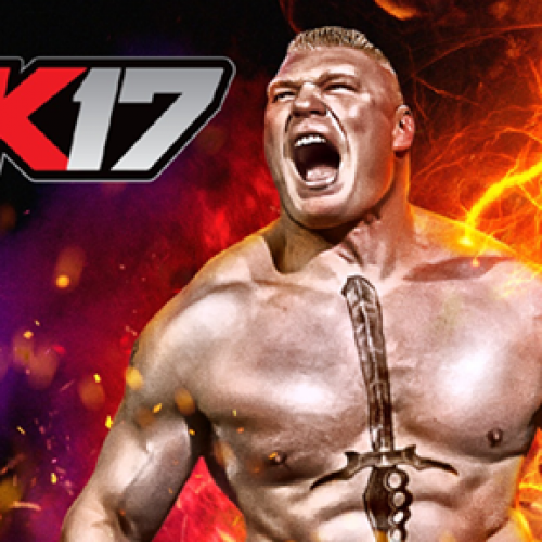Brock Lesnar revealed as WWE 2K17 cover star