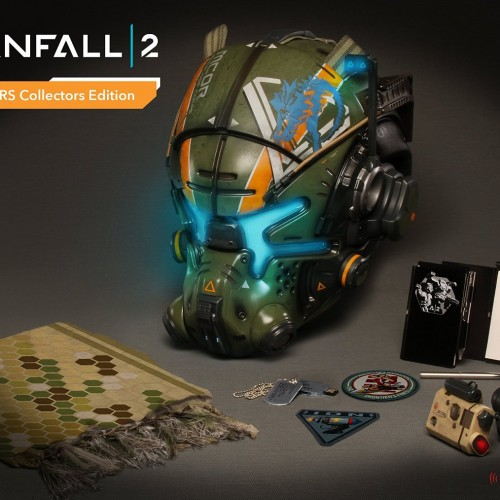 Titanfall 2 Collectors Edition features helmet replica