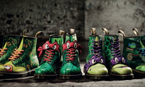 Check out these radical Teenage Mutant Ninja Turtles boots from Dr. Martens