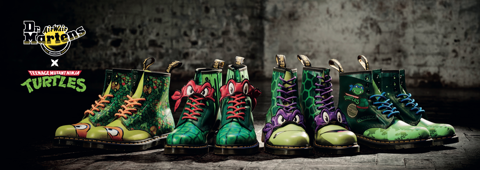 check out these radical teenage mutant ninja turtles boots from dr