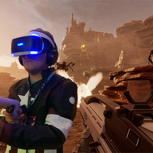 E3: Hands-on with Farpoint in PlayStation VR