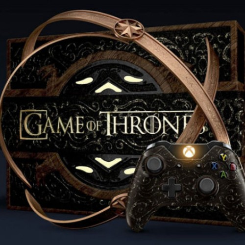Check out this limited edition Game of Thrones Xbox One Console