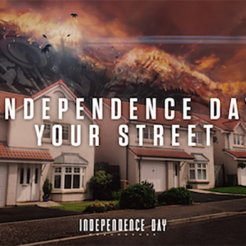 Turn your street into an alien war zone with Independence Day Your Street