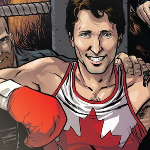 Canada PM Justin Trudeau: Marvel's newest comic book superhero?