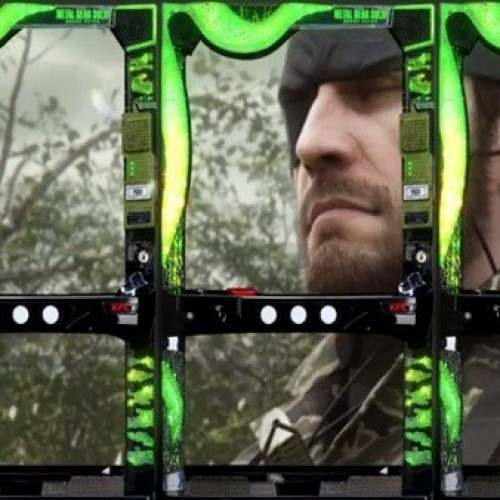 Fans upset at Konami for reducing Metal Gear Solid to a Pachinko game