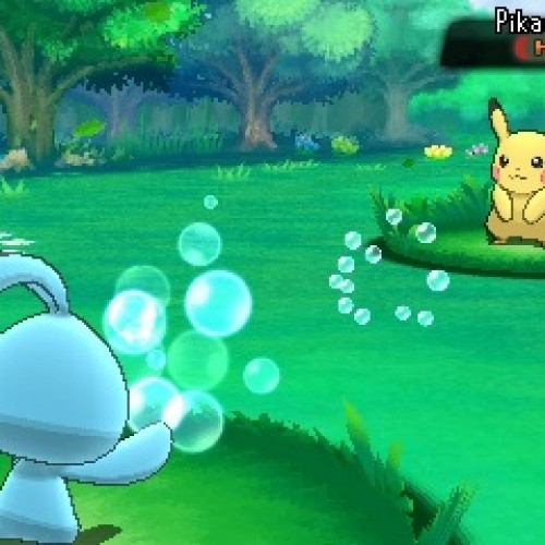 Mythical Pokémon Manaphy is free to download until June 24