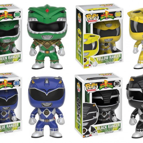 New Power Ranger Funko Pops releasing this summer including Green Ranger