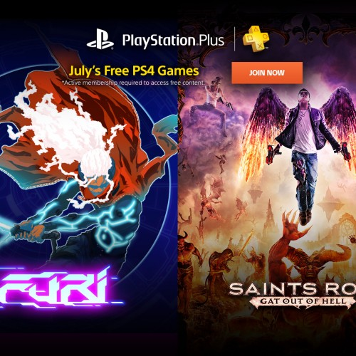 PlayStation Plus July Free Games