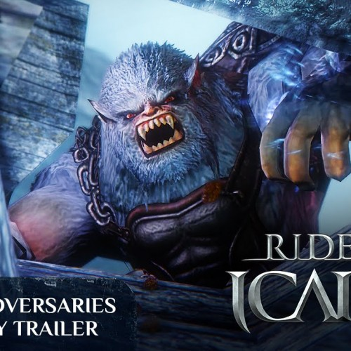 Free-to-play MMORPG Riders of Icarus 'Adversaries' gameplay trailer