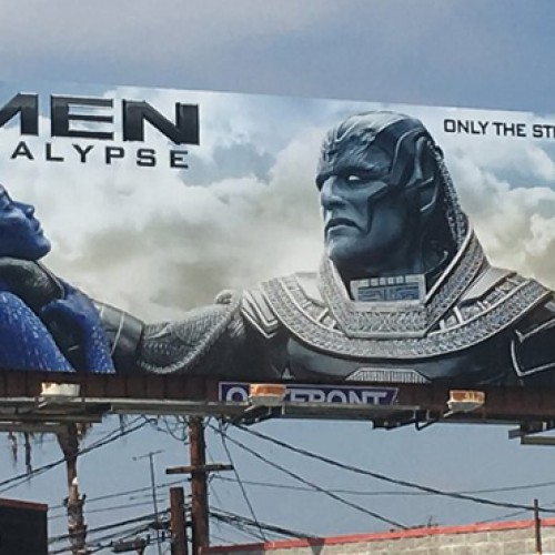 Fox apologizes for X-Men: Apocalypse billboard