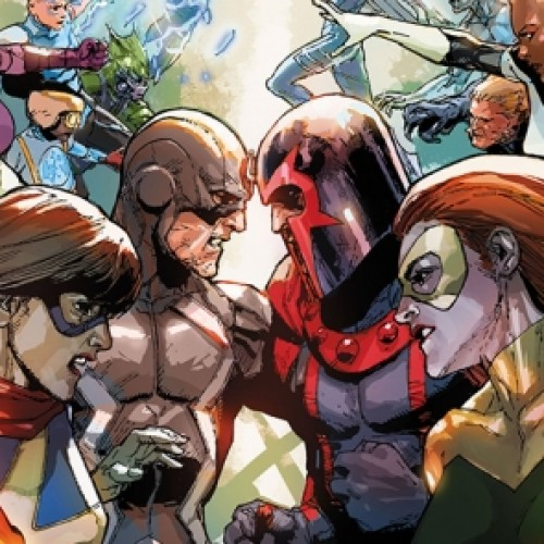 Marvel announces Inhumans vs X-Men comic book event