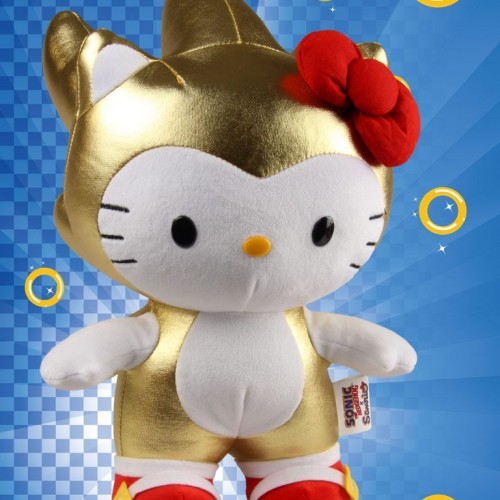 SDCC 2016: Super Sonic x Hello Kitty plush